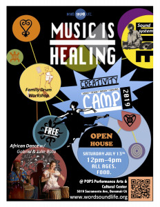Music Is Healing Open House @ Pops Performance Arts and Cultural Center